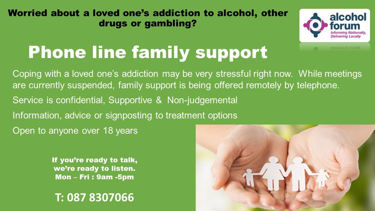 Alcohol Support